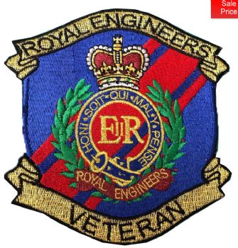 RE VETERAN EMBROIDERED BADGE